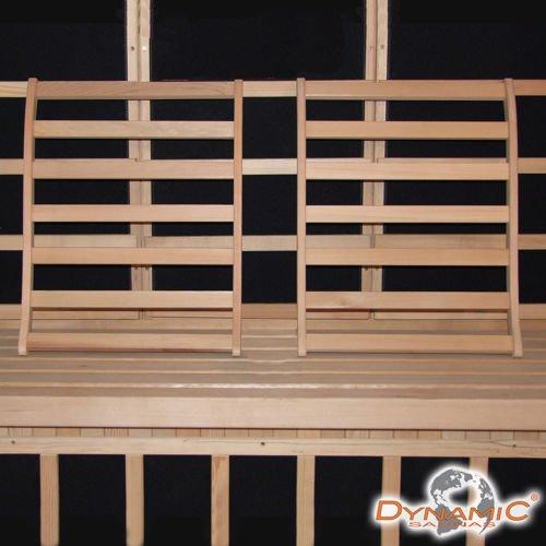 Dynamic Canadian Hemlock Sauna Backrest - Set of 2