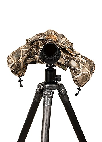 LensCoat Raincoat 2 Standard (Realtree Max 4) Camouflage Cover Sleeve Protection for Camera and Lens LCRC2SM4