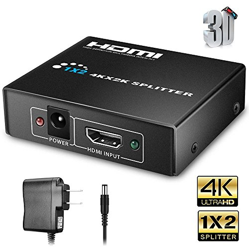 Hdmi Spliter,Hdmi signal Splitter,Hdmi Splitter,Hdmi switch,1x2 hdmi Splitter,Hdmi switch box,Hdmi Switch Splitter Selector Switch Box (Projectors Tv Tuner)