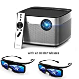 Electropolis XGIMI H1 Immersive Home Theater 1080P Native Support For 4K UHD 900ANSI Lumens Projector With Harman Hardon Stereo Free 3D DLP Glass