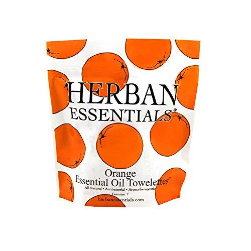 Herban Essentials Mini Orange Towelettes