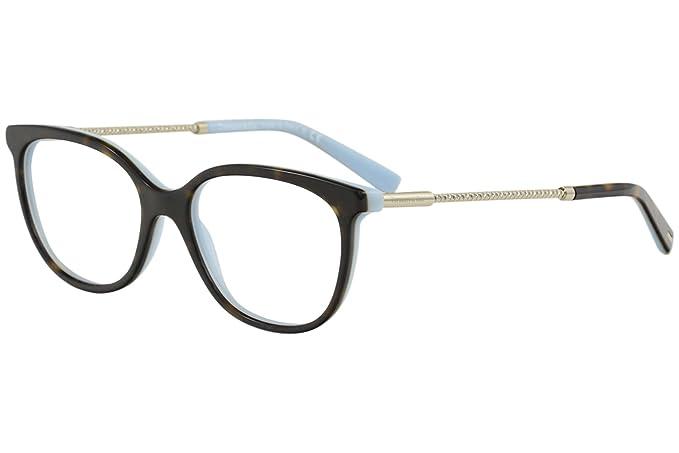 e7f7fe260589 Tiffany Diamond Point TF 2168 Havana Turquoise 52 17 140 Women Eyewear  Frame at Amazon Men s Clothing store