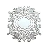 Caopixx Lace Flower DIY Scrapbooking Cutting Dies Metal Stencil Template for Greeting Card Cover Embossing (E2)