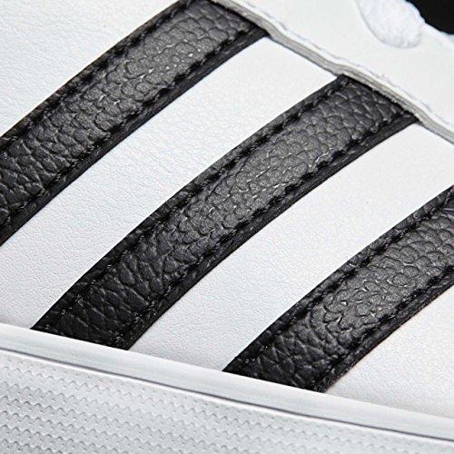 Negbas W Gymnastique Ftwbla Plamat Blanc Femme de Chaussures Courtset adidas 000 nTwqWPHT