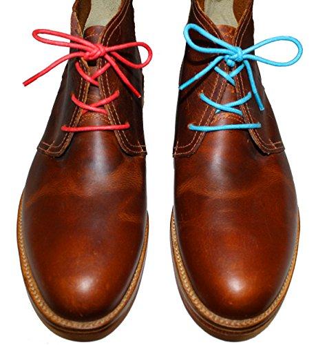 Shoeslulu 20-59 Premium Ronde Canvas Canvas Schoenveters Bootlaces Firebird Rood