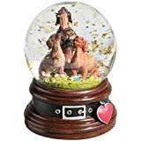 Dachshund Trio Musical Waterglobe - What On Earth Exclusive