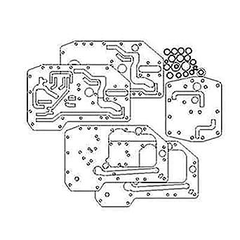 Amazon com: 393877R93 Hydraulic Steering Pump Gasket Kit