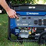 Westinghouse WGen6000 Portable Generator 6000 Rated