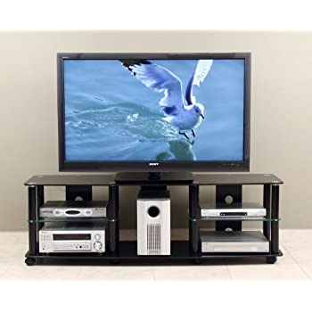 this item stand casters led 65 inch tv with mount target at ashley furniture amazon