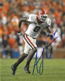 Signed A.J. Green Picture - AJ Georgia Bulldogs 8x10 - Autographed College Photos