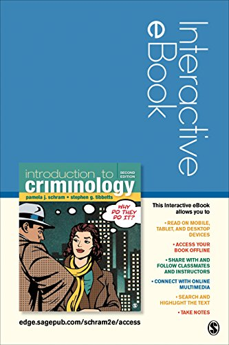 Introduction to Criminology: Why Do They Do It? Interactive eBook Student Version