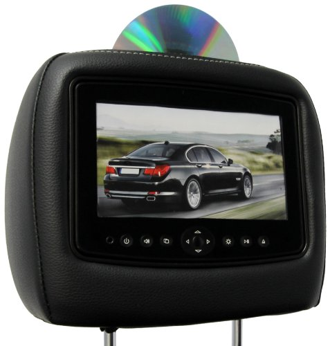 CarShow by Rosen CS-HDCRV12-B27-S1 Single DVD Headrest Sy...
