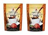 2 Packs DXN Lingzhi Black Coffee with Ganoderma Extract ( Total 40 sachets )