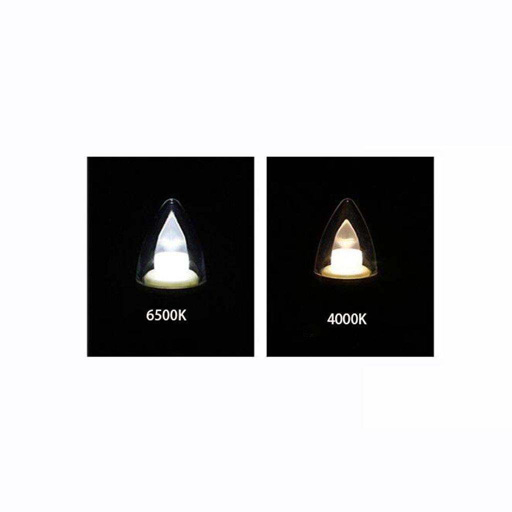 Luci Anteriori a Specchio a LED Bagno a Risparmio energetico Impermeabile Anti Nebbia Lampada da Parete Bagno Specchio da Trucco Xin Colore : Warm Light 4000K, Dimensioni : 60CM 16W