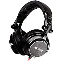 Somic MM185 HIFI Music Headphone, Black