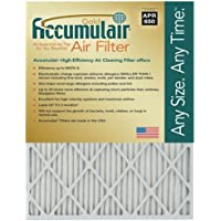 Accumulair Gold 21x22x1 (Actual Size) MERV 8 Air Filter/Furnace Filter (2 Pack)