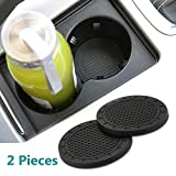 Wall Stickz car Sales 2.75 Inch Diameter Oval Tough Car Logo Vehicle Travel Auto Cup Holder Insert Coaster Can 2 Pcs Pack