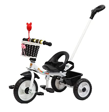 Niños Triciclo Bicicleta Bebé Bebé Trolley Niño Coche Bicicleta 3 Ruedas 1 a 3 años de
