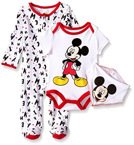 Disney Mickey Mouse Footie Bodysuit