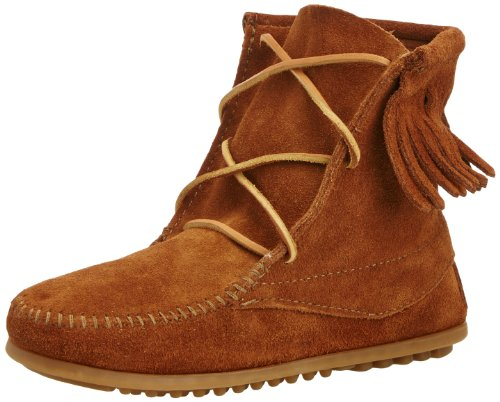 Minnetonka Tramper Boot (Toddler/Little Kid/Big Kid),Brown,8 M US - Minnetonka Kids