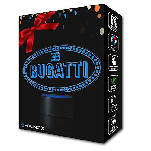 [BUGATTI Lighting Decor Gadget Lamp Awesome Gift + FREE 2 BONUSES, Sticker Decor + MULTI PURPOSE CREDIT CARD = Best Set (MT114) By] (Incredibles Costumes Designer)