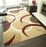 Rugs America Capri Area Rug, 3-Feet 11-Inch by 5-Feet 3-Inch, Tex For Sale