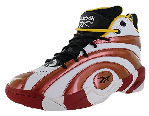 Reebok Shaqnosis Og Basketballschuh Black/Excellent Red/White/Nuclear Yellow
