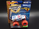 #10: 2018 Hot Wheels Monster Jam 1:64 Scale Truck with Re-Crushable Car - Ice Cream Man