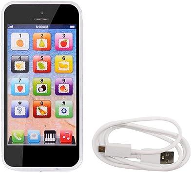 Ncient Telefono Giocattolo Educativo Smartphone Touch & Play