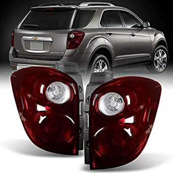Fit 2010-2015 Equinox Dark Red Tail Lights Driver Passenger Side Replacement