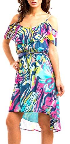 Buy belted chiffon dress new look - 5