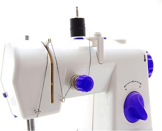 Jocca Maquina de Coser, Blanco y Azul, 21.7x12x20.5 cm: Amazon.es: Hogar