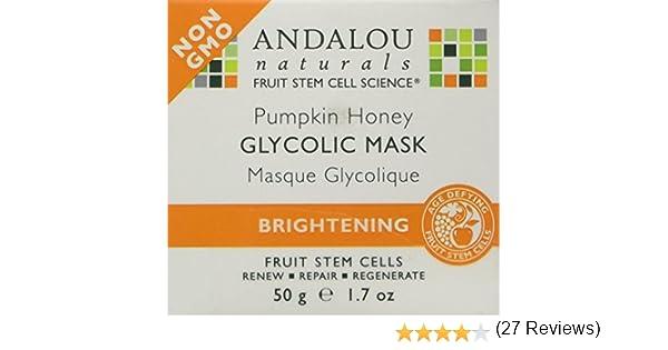 Brightening Pumpkin Honey Glycolic Mask by andalou naturals #21