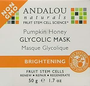 Andalou Naturals Pumpkin Honey Glycolic Brightening Mask 1.7 ml
