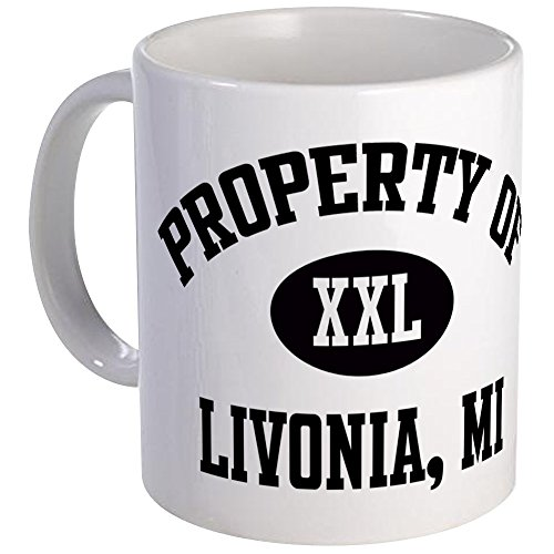 (CafePress - Property Of Livonia Mug - Unique Coffee Mug, Coffee Cup)