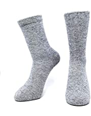 Mongolia Pure Cashmere Thick Women Woman Men Man Unisex Socks(1 pairs)