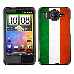 Shell-Star ( National Flag Series-Hungary ) Snap On Hard Protective Case For HTC Desire HD / Inspire 4G