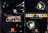 The World History Of Organized Crime , The True History Of The Mafia The Godfathers Collection : The History Channel Double Box Set : Over 9 Hours