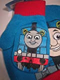 Thomas the Tank Engine Little Boys Hat and Mitten Set with Thomas on all three