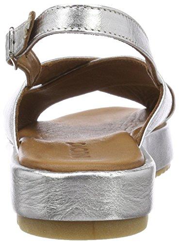 Inuovo Damen 9004 Peeptoe Sandalen Silber (plata) Envío gratis Manchester Great Venta Venta barata amplia gama de Buscando O21KgeAd