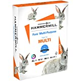 Hammermill Paper, Fore Multipurpose Paper, 8.5 x 11 Paper, Letter Size, 20lb Paper, 96 Bright, 1 Ream / 500 Sheets (103267R) Acid Free Paper