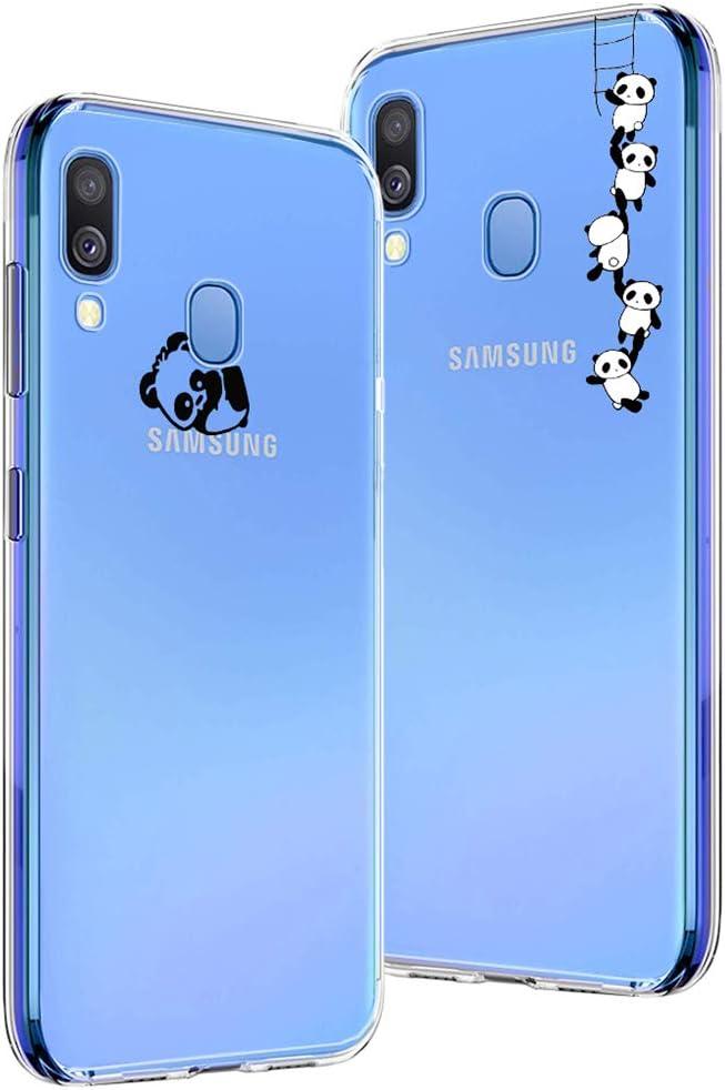 Easybee [2 Pack] Funda Para Samsung Galaxy A40, Ultra-Delgado ...