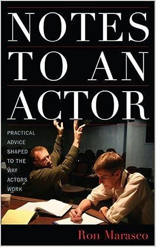 Notes to an Actor: Amazon.es: Marasco, Ron: Libros en idiomas ...