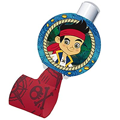 Disney Jake and the Never Land Pirates Blowouts (8) Party Accessory by Hallmark: Clothing