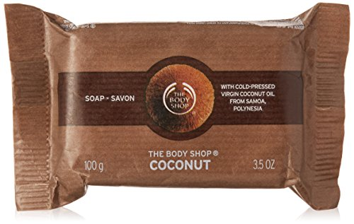 The Body Shop Coconut Soap, 3.5 Ounces (Packaging May Vary) ()