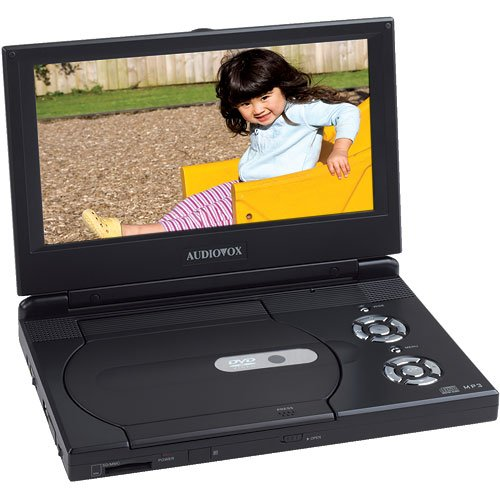 Audiovox D1988 9-Inch Slim Line Portable DVD Player ()