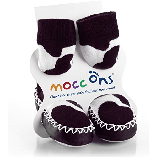 Mocc Ons Moccasin Style Slipper Socks