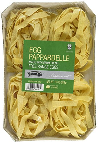 Sanremo Egg Pasta, Pappardelle, 10 Ounce