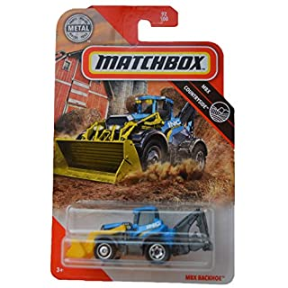 Matchbox Countryside MBX Backhoe 92/100, Blue