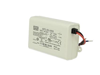 apc-12-350; corrente costante Alimentatore LED 12w 6-36v 350ma; MeanWell